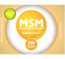AWA superfoods MSM tablety 250 ks