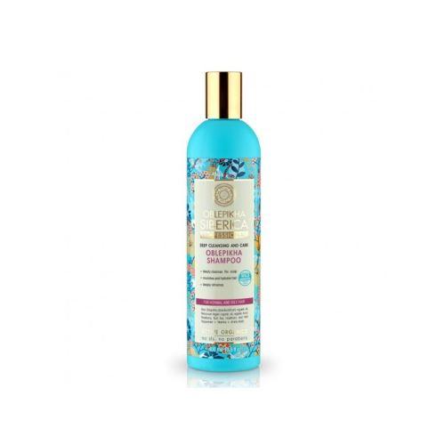 Rakytníkový šampón pre normálne a mastné vlasy, Natura Siberica - Oblepikha Siberica 400ml