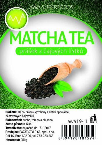 Matcha tea, zelený čaj