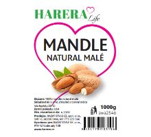 RA FOOD mandle natural malé 1000g