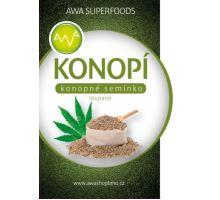 AWA superfoods konopné semienka lúpané 500g