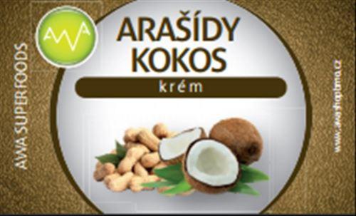 AWA superfoods Arašídovo kokosové maslo 180g