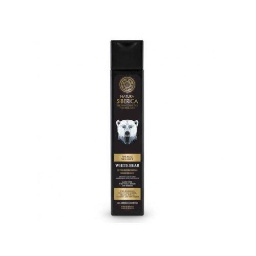 Super osvěžující sprchový gél Biely Medveď, Natura Siberica - MEN 250ml