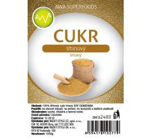 AWA superfoods trstinový cukor tmavý DEMERARA 1000g