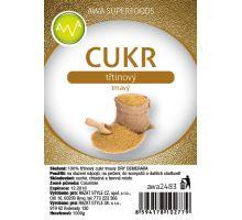 AWA superfoods třtinový cukor tmavý DEMERARA 1000g