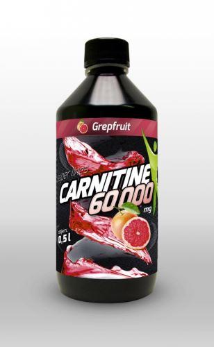 L-karnitín 60 000 mg 500ml, spaľovač tukov s príchuťou cherry