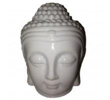 Aromalampa Hlava Budha biela