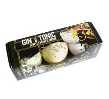 Šumivé bomby do koupele Gin a tonic sada 3 ks