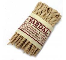 Bylinné vonné provázky Santalové dřevo a koření 50ks
