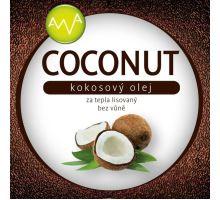 AWA superfoods Kokosový olej COCONUT 1000ml 3 kusy + dárek