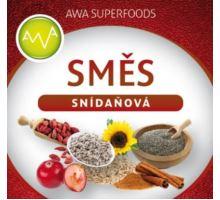 AWA superfoods snídaňová směs 500g