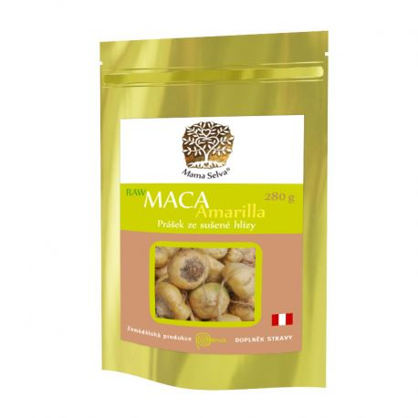MACA Amarilla žltá maka z Peru RAW BIO 280g