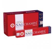 Indické vonné tyčinky Golden Nag Champa 15g