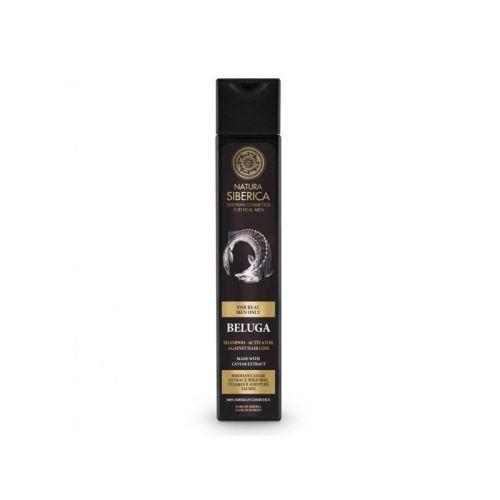 šampón proti vypadávaniu vlasov a pre podporu ich rastu (Beluga), Natura Siberica - MEN 250ml
