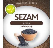 AWA superfoods čierny sezam nelúpaný 300g