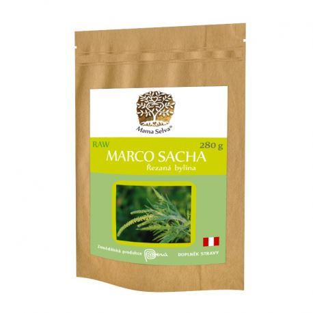 MARCO SACHA řezaná nadzemní část sušené rostliny RAW 280g