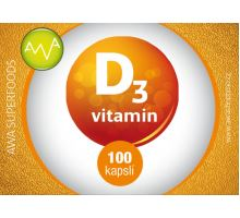 AWA superfoods vitamín D3 100 tablet