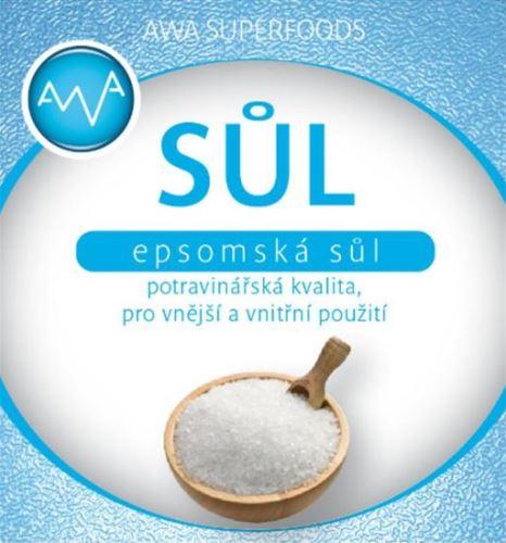 Epsomská soľ potravinárska 1000g
