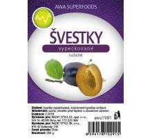AWA superfoods sušené slivky vykôstkované 250g