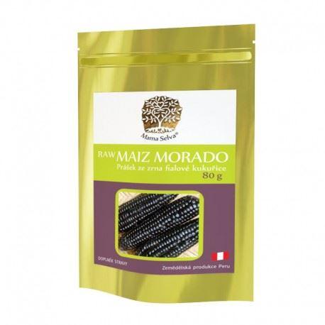 Maize MORADA prášok zo sušeného zrna fialovej kukurice RAW 240g