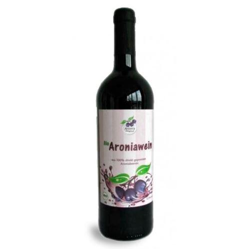 Arónie víno BIO 750 ml
