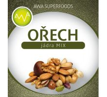 AWA superfoods Jadrá orechov zmes 1000g