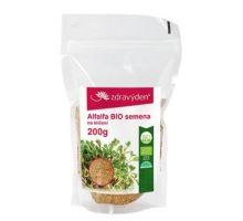Alfalfa BIO - semienka na klíčenie 200g
