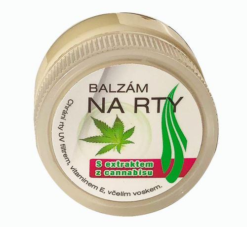 Balzam na pery s výťažkom z cannabisu 25ml