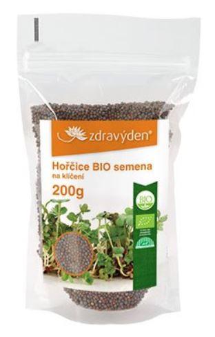 Hořčice BIO - semienka na klíčenie 200g