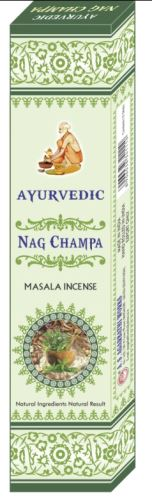 Ayurvedic Indické vonné tyčinky Nag Champa 16g