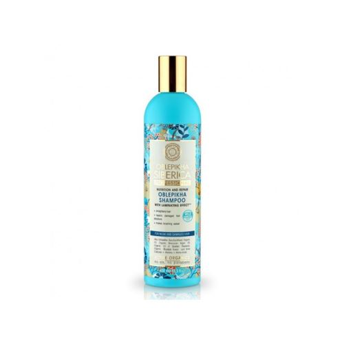 Rakytníkový šampón pro poškozené vlasy (Výživa a revitalizace), Natura Siberica - Oblepikha Siberica 400ml