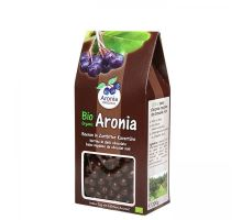 Arónie BIO (čierna jeřabina), sušené ovocie v horkej čokoládě 200 g