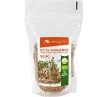 Zmes semen na klíčenie BIO - brokolica, ředkev červená jetel 200g