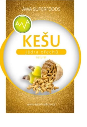 AWA superfoods Kešu orechov natural 1kg