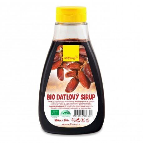 Datľový sirup Wolfberry BIO 400 ml / 540g