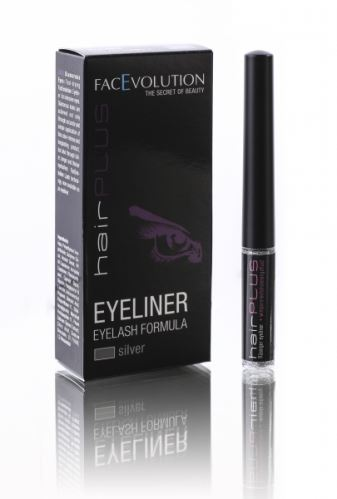 Hairplus EYELINER striebro 1,5 ml