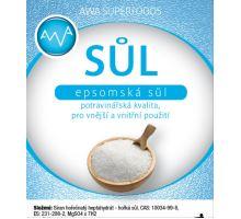 Epsomská sůl potravinářská 500g