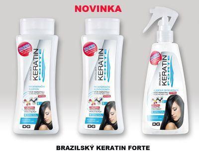Brazílský keratín FORTE sada 3ks