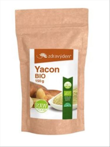 Zdravý den Yacon  BIO RAW 150g