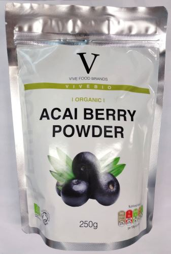VIVEBIO Organic ACAI Berry powder BIO 250g