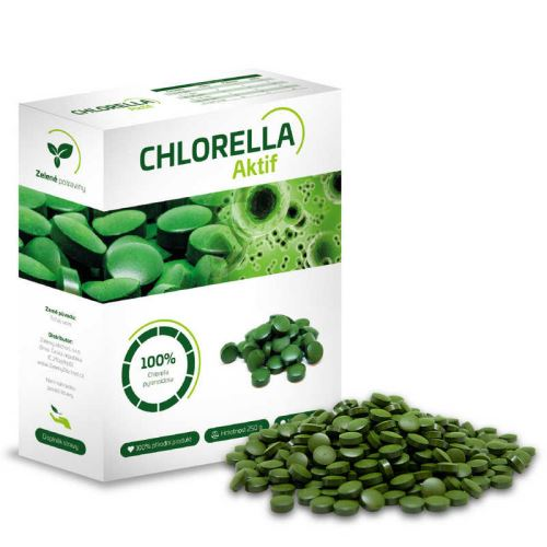 Chlorella Aktif 250g (Chlorella pyrenoidosa)