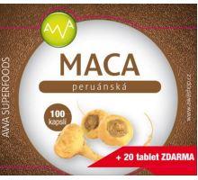 AWA superfoods Maca peruánska 100 kapsule