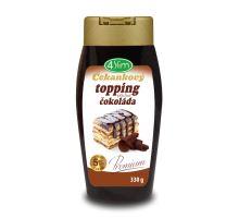 Čekankový topping s příchutí čokolády 330g