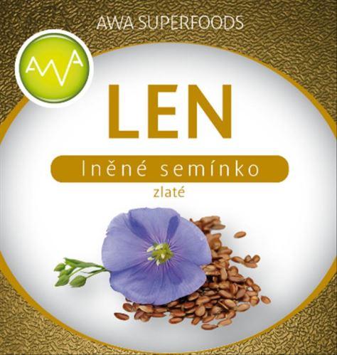 AWA superfood ľanové semienko zlaté 1000g
