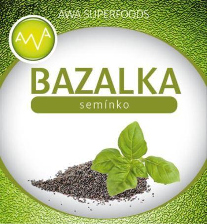 AWA superfoods bazalkové semienko 1000g