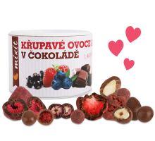 Chrumkavé ovocie a orechy v čokoláde 180g